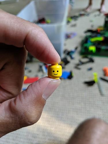lego person head